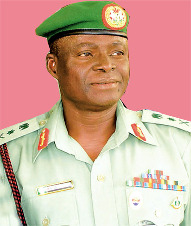 Former Chief of Army Staff Lt-Gen Luka Yusuf
