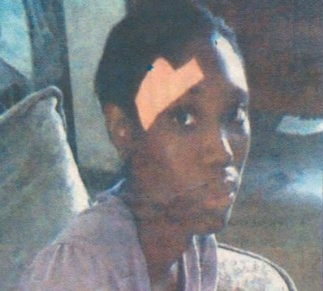 The assault victim Uzoma Okere